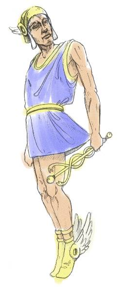 God Hermes Citadel Of Poseidon